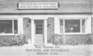Postcard of the Four Season Inn Trav-o-tel & Restaurant