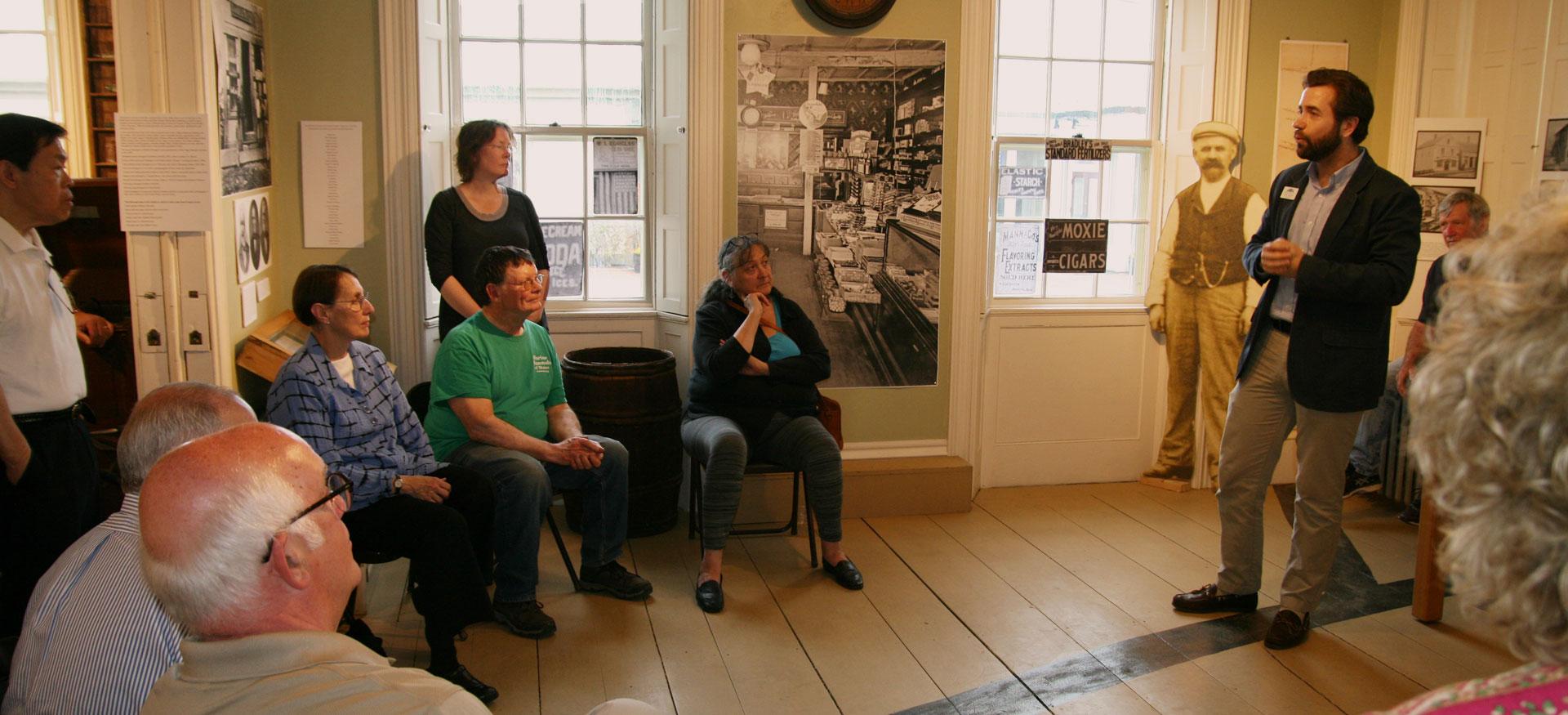 Exhibits at Freeport Historical Society