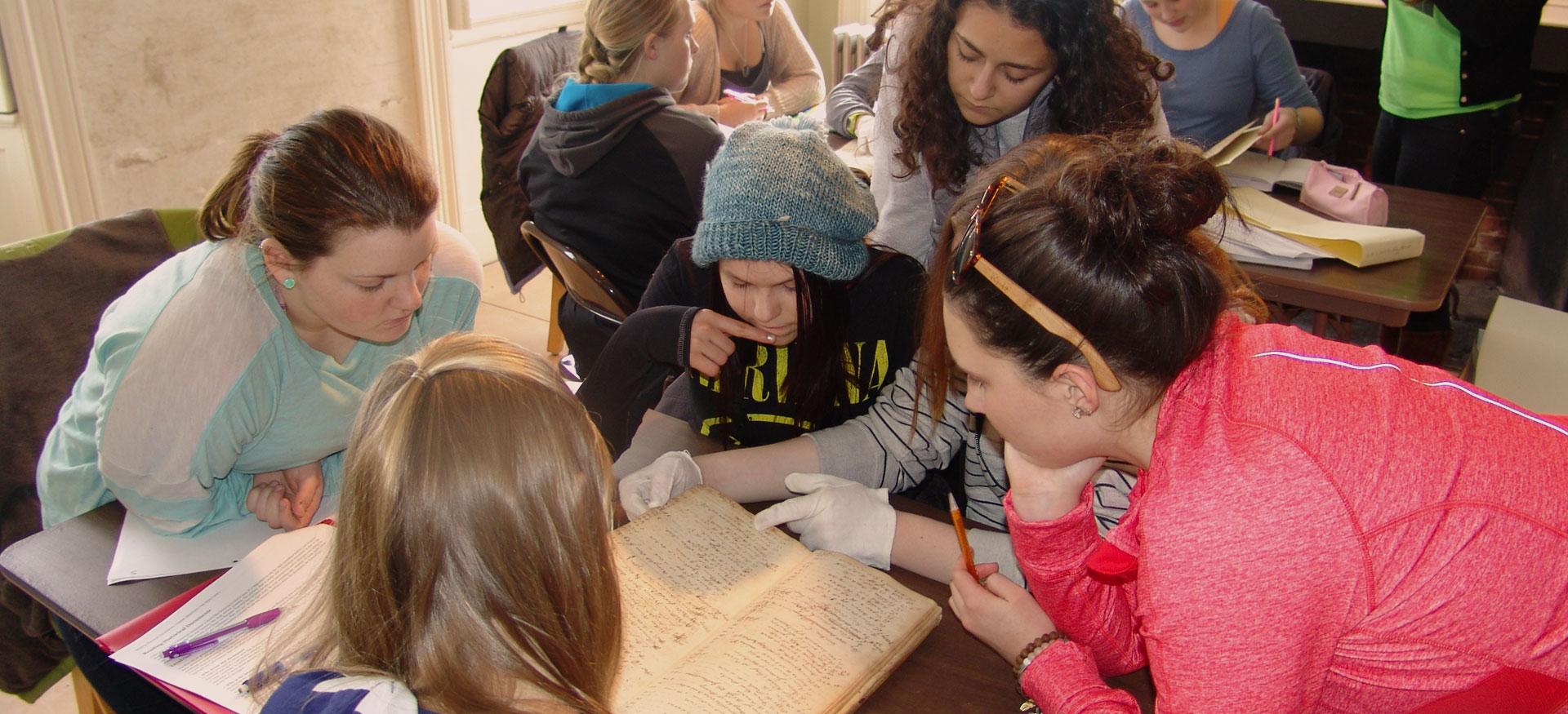 History education at Freeport Historical Society