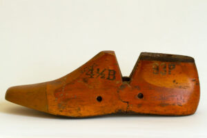Artifacts of Freeport Maine's shoe industry
