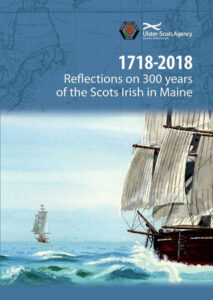 The cover of 1718-2018 Reflections on 300 years of the Scots Irish in Maine