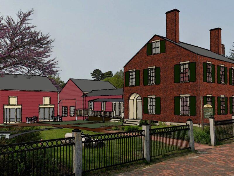 Harrington House renovations