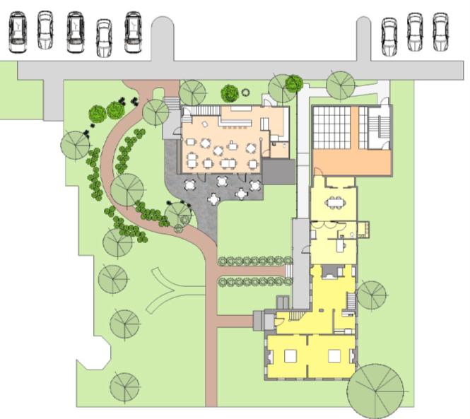 Main Street campus design plan